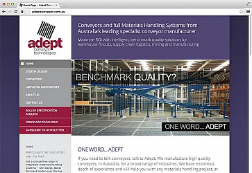 Adept Conveyor Website