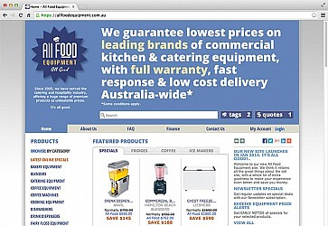All Food Equipment Website