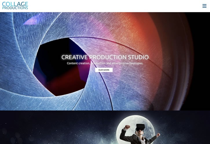 Collage Productions Website