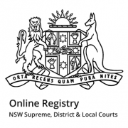 NSW eServices Lawlink logo