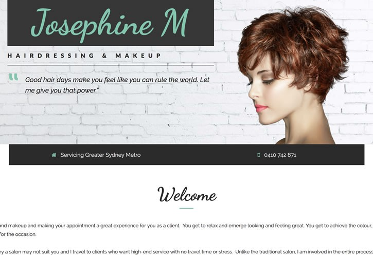 JosephineM website