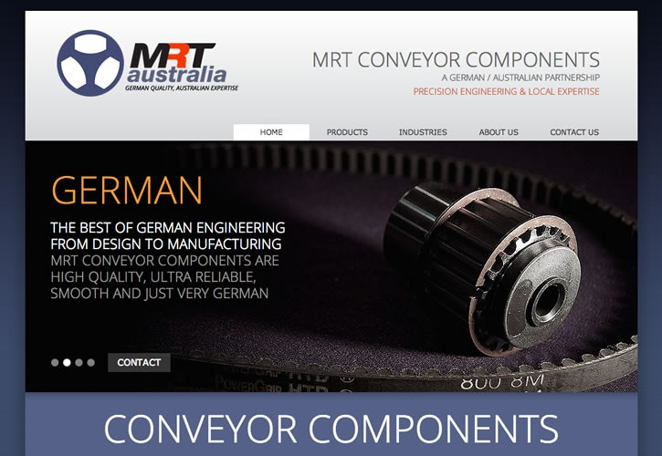 MRT Australia website