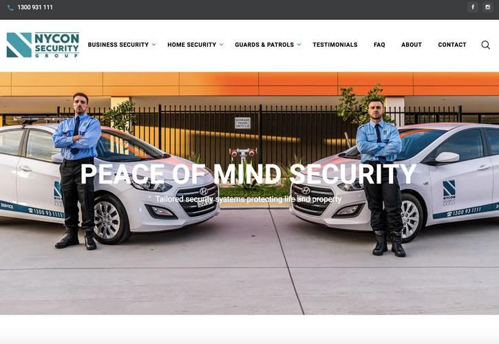 Nycon Security Website