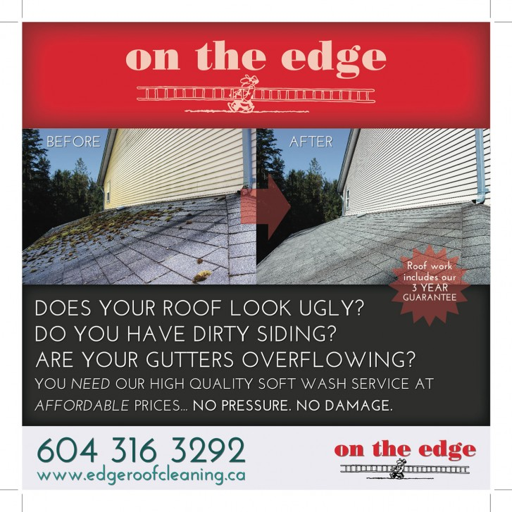 On The Edge billboard signage