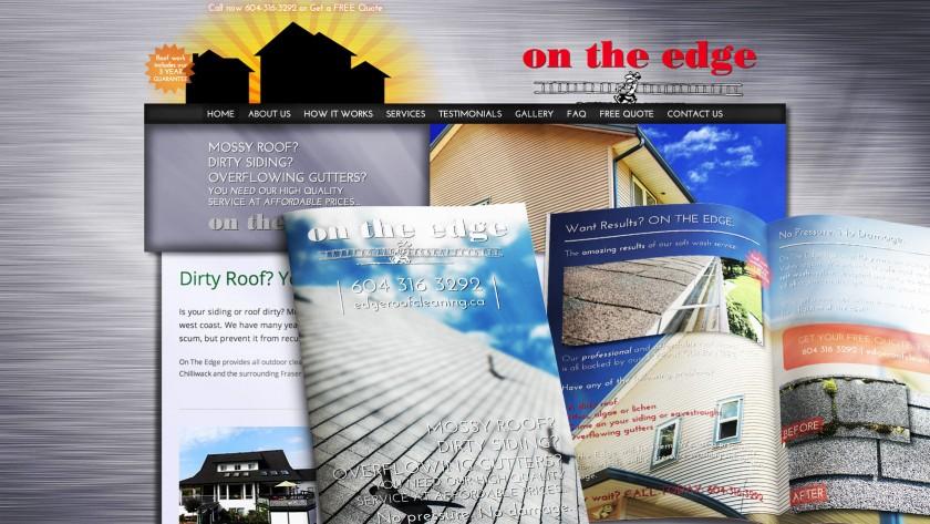 On The Edge Website
