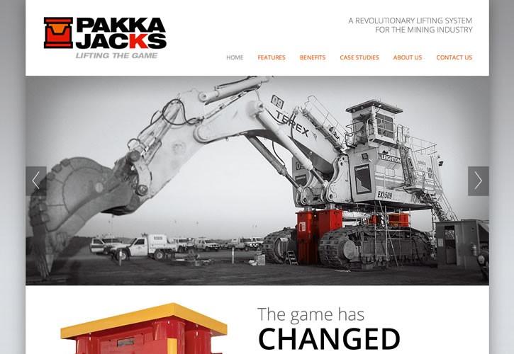 Pakka Jacks website
