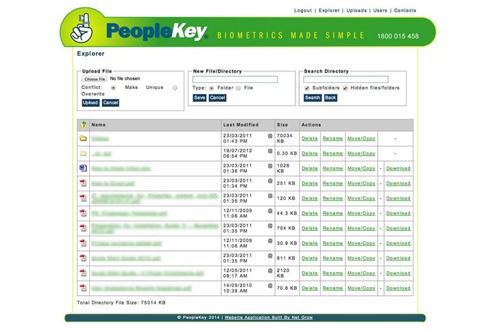 People file manager