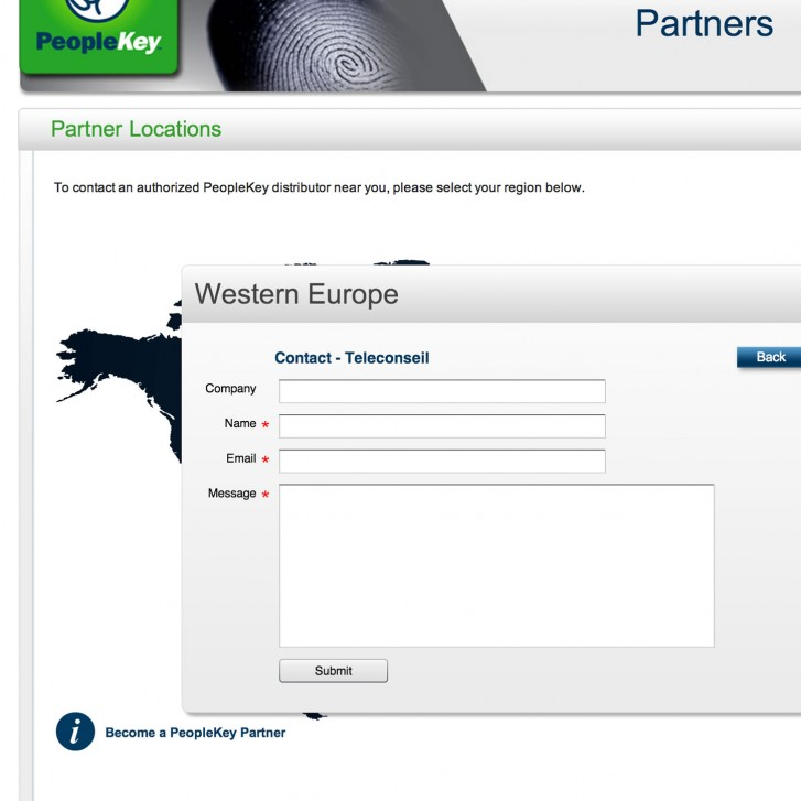 Partners contact form