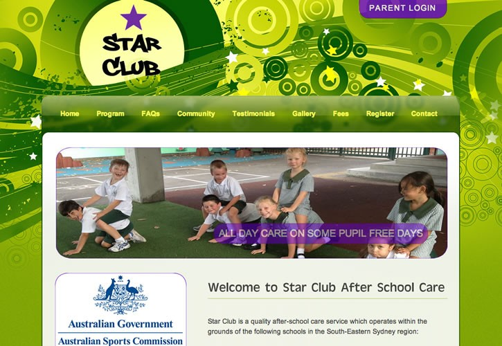 Star Club Schools website