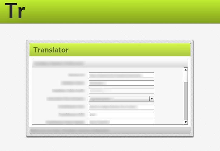 Translator website