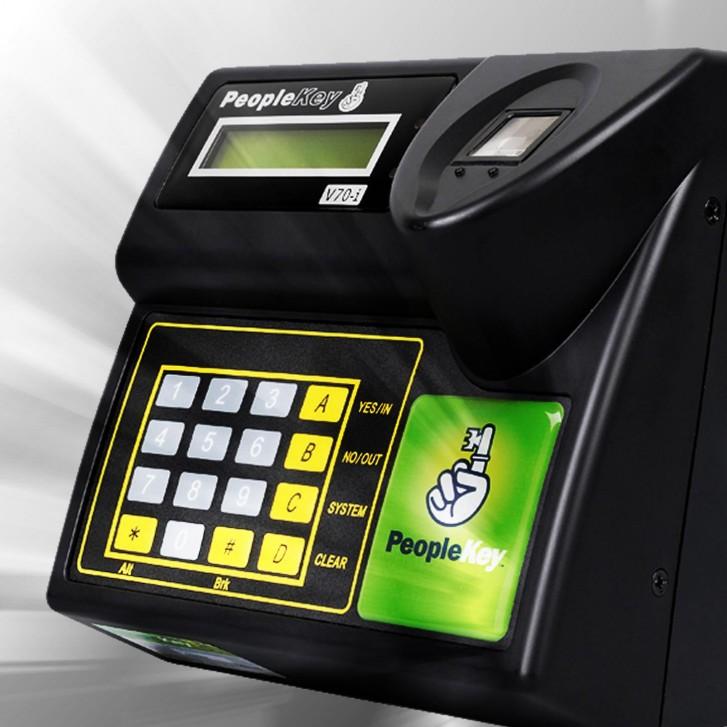 People Key V70i fingerprint scanner
